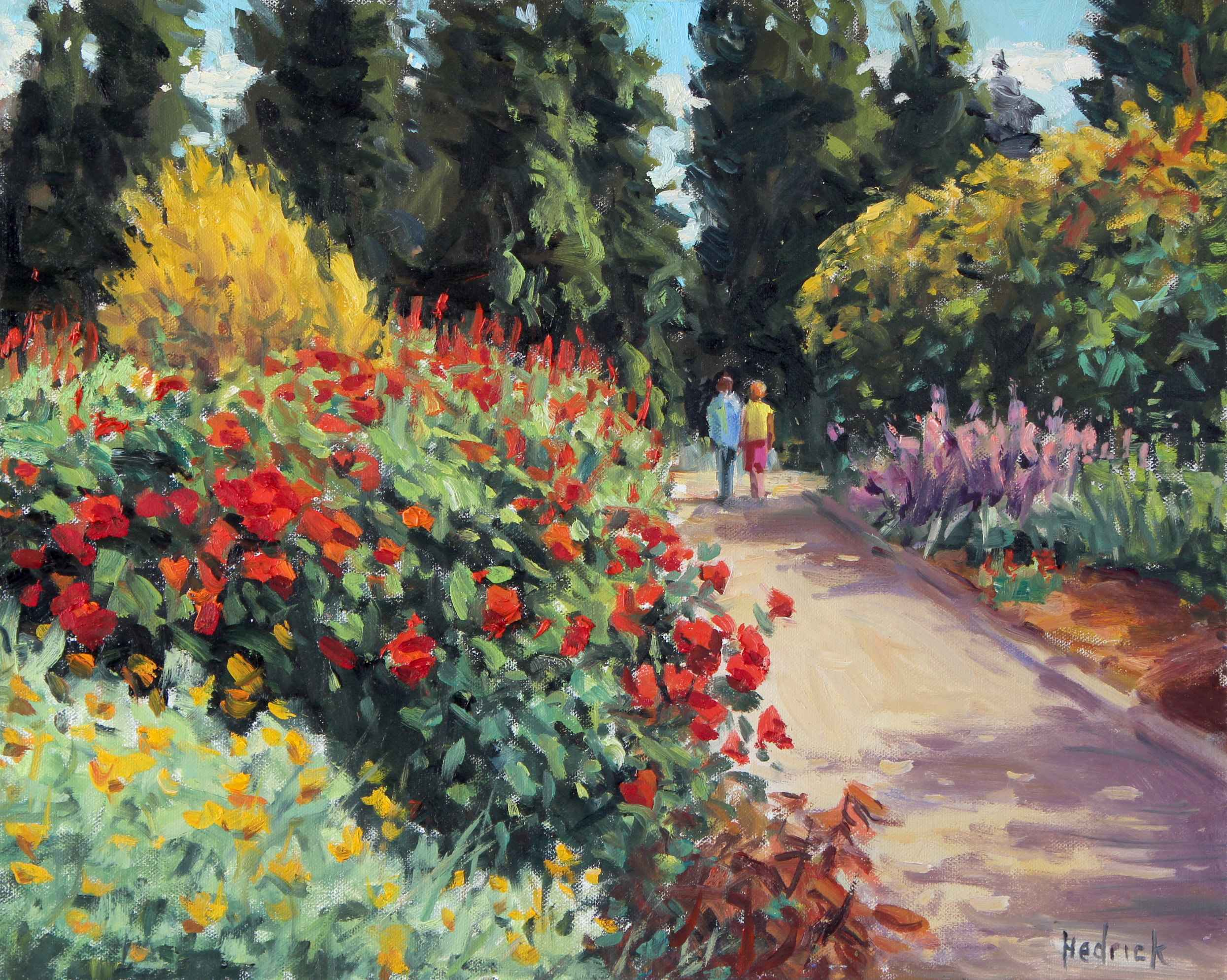 A Walk in the Park  by  Ron Hedrick