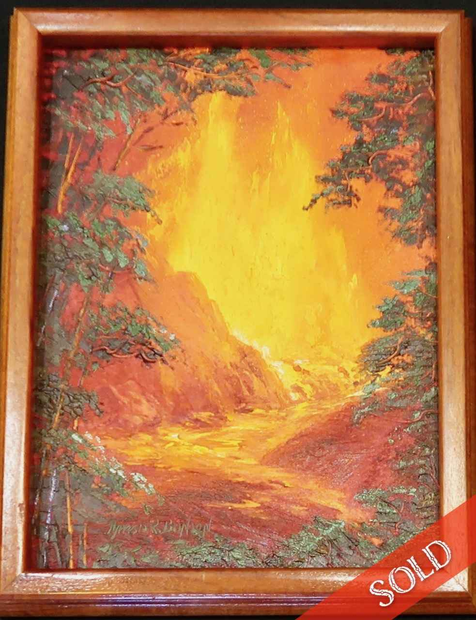 Volcano by  Theresia Brinson (b.1926) - Masterpiece Online