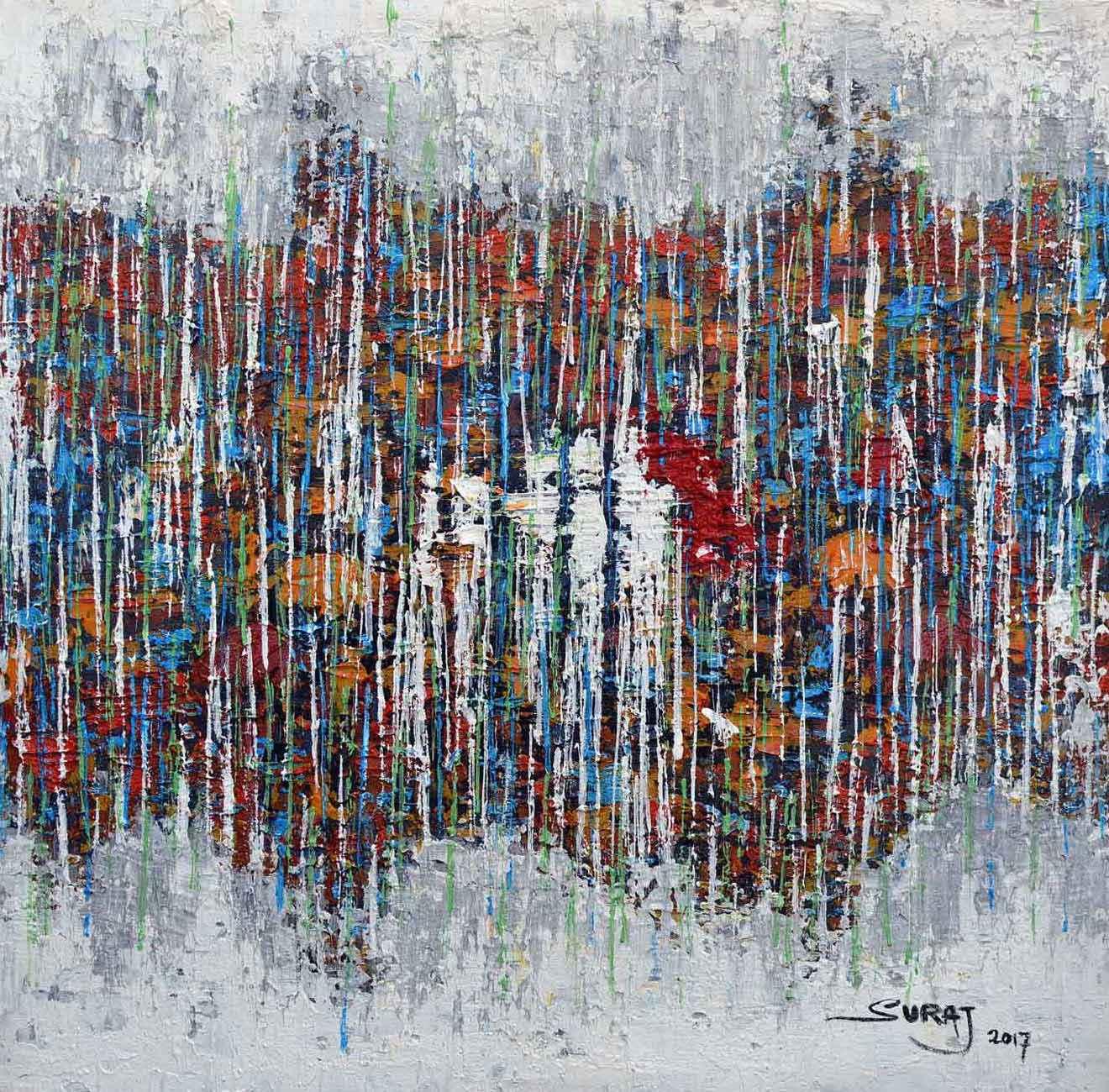 Shower Of Blessing III by Mr Suraj Adekola - Masterpiece Online