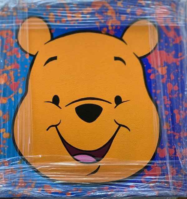 Pooh Face by   Del Mar, Paulina - Masterpiece Online