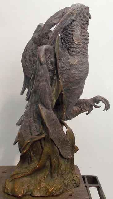 Ruffled Feathers by  Burneta Venosdel - Masterpiece Online