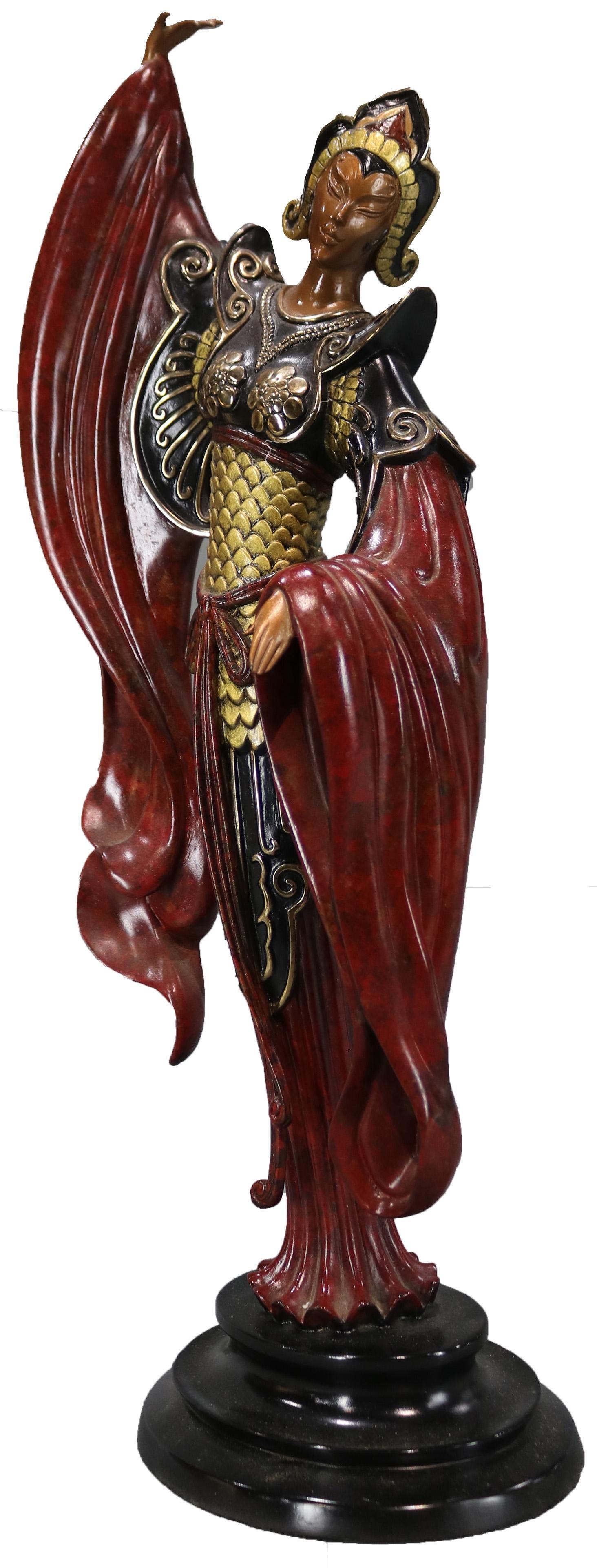 Chinese Legend - Bron... by   Erte - Masterpiece Online
