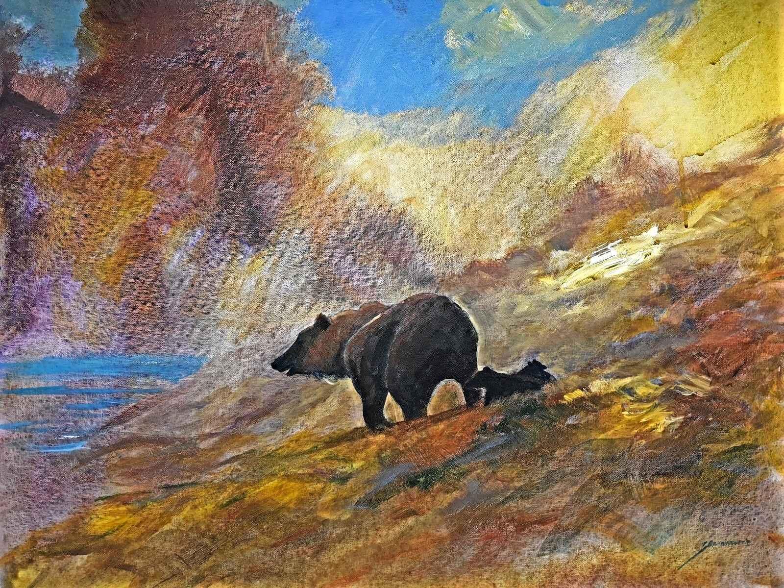 Bear by  Michael Schofield - Masterpiece Online