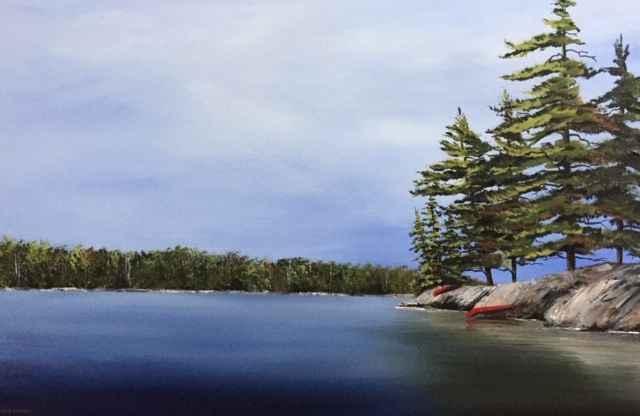 Northern Getaway by  Janet Liesemer - Masterpiece Online