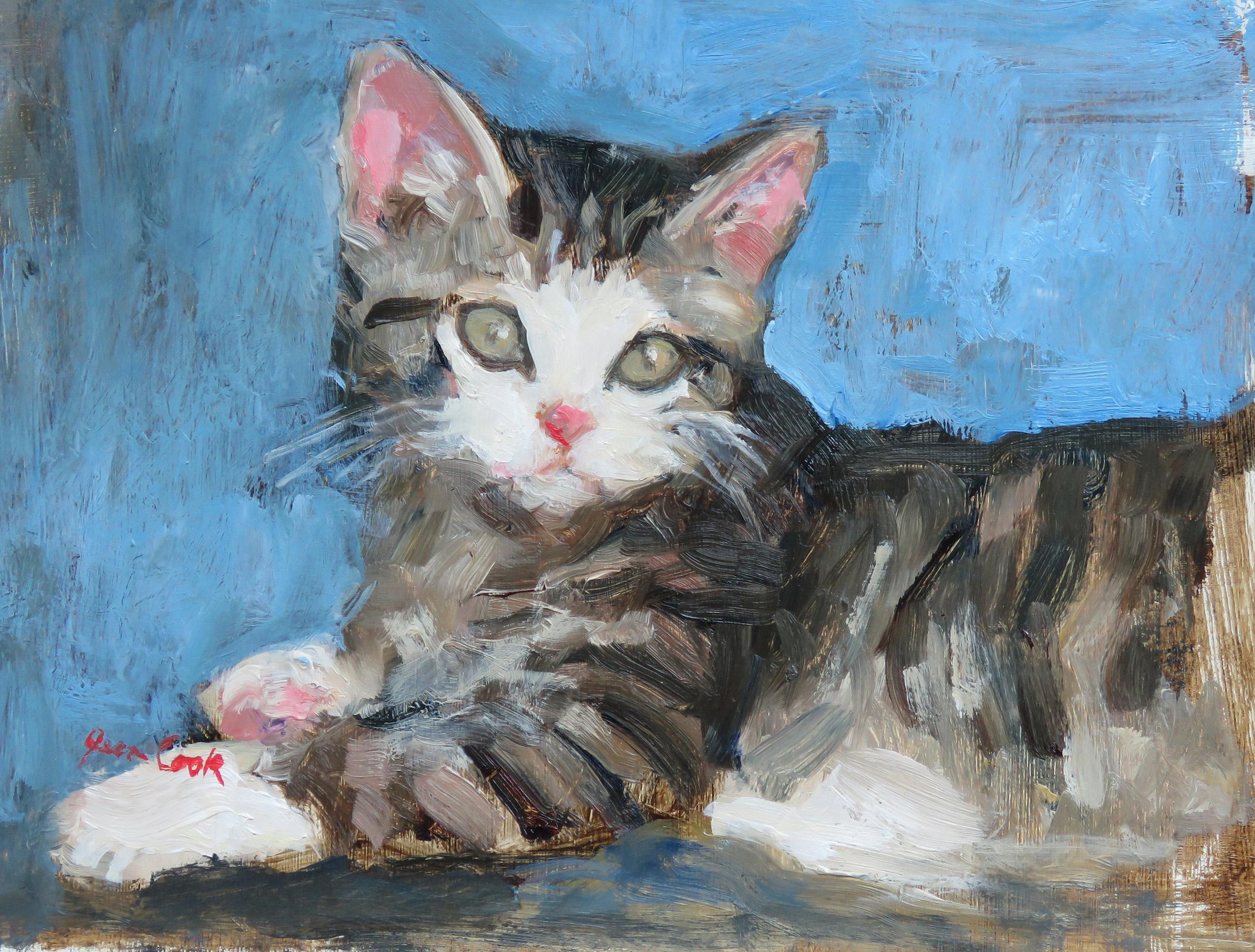 Little T's Kitten by  Jean Cook - Masterpiece Online