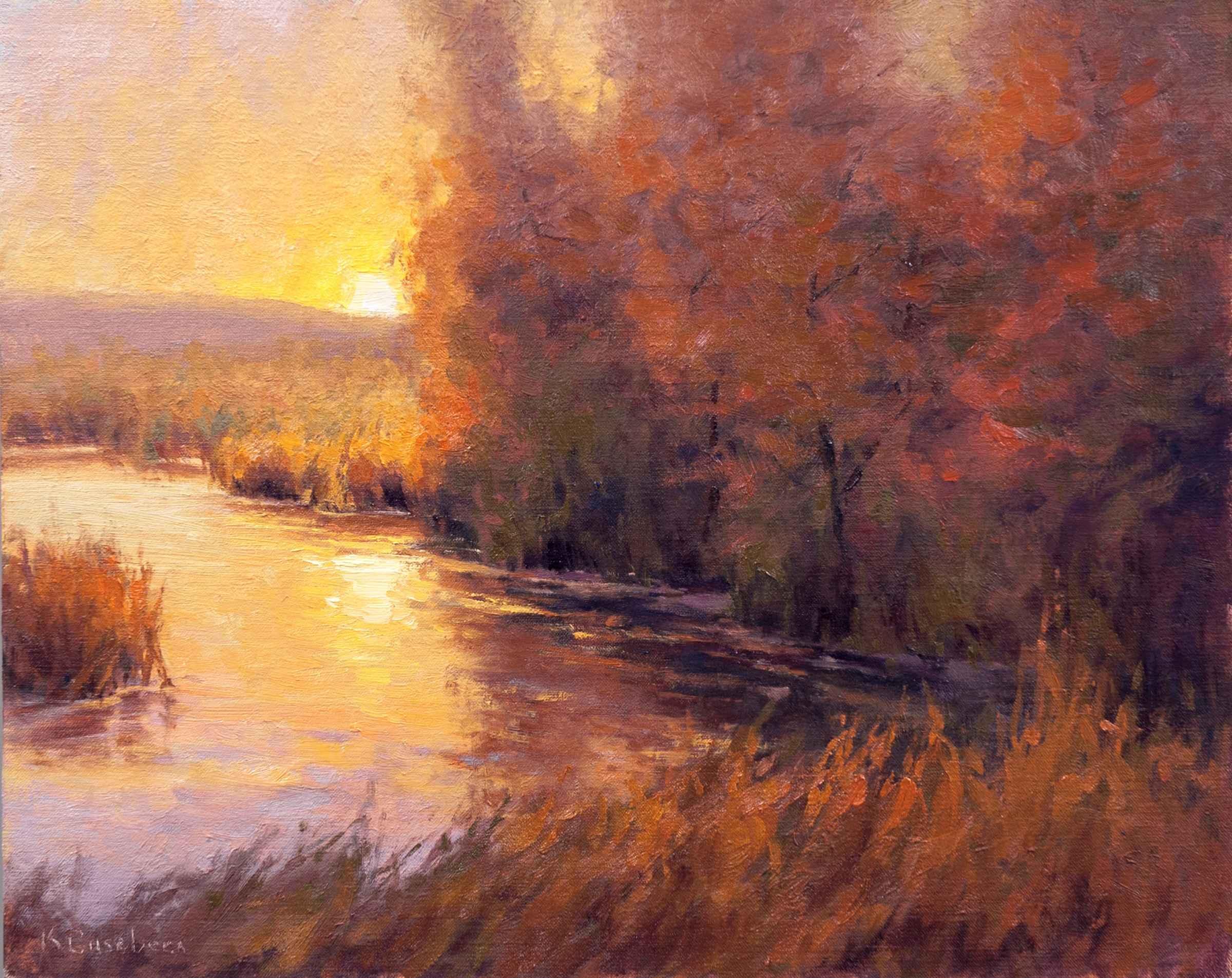 Autumn Glow by  Kim Casebeer - Masterpiece Online
