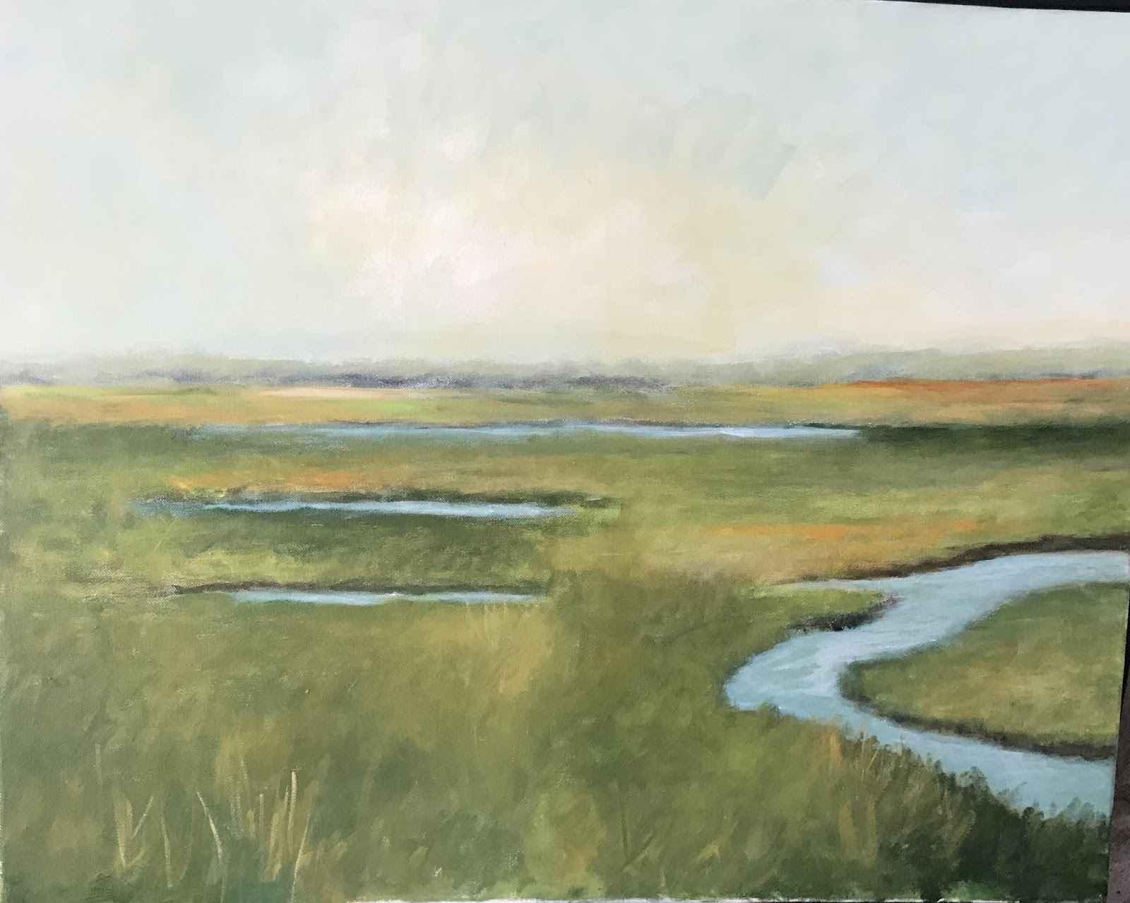 Marsh  by  Sandra Aldrich