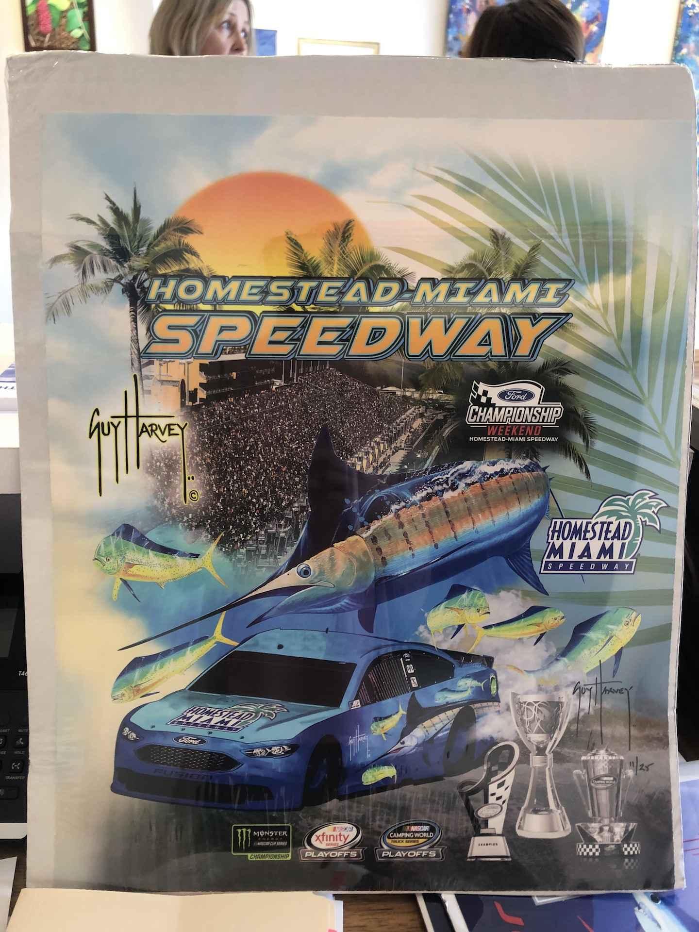 Homestead Miami Speed... by  Guy Harvey - Masterpiece Online
