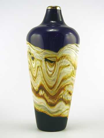 Amethest Sm Closed Urn by  Danielle Blade/Stephen Gartner - Masterpiece Online