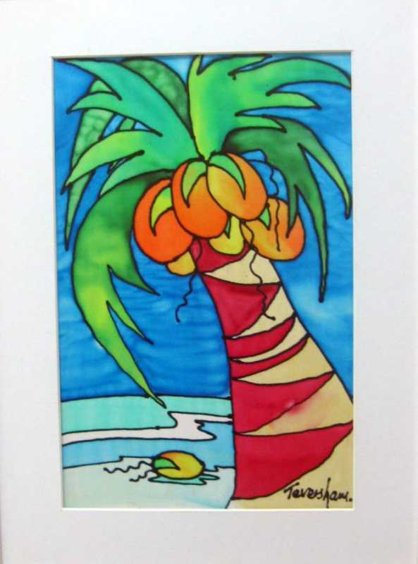 Coconut  Palm by Mrs. Angie Teversham - Masterpiece Online