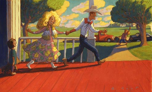 Mom And Dad Go Dancing by  Barry Root - Masterpiece Online