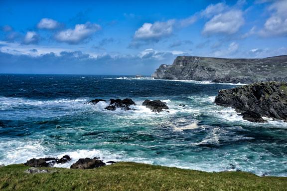 Irish Sea  by  Elias Mina