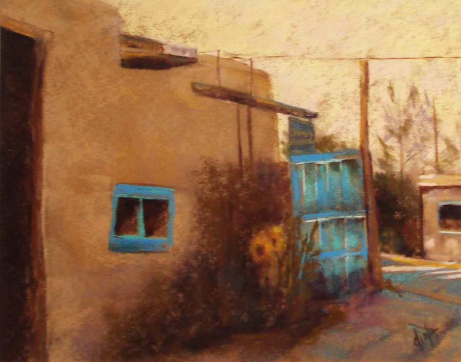Streets of Taos by Mrs Dina Gregory - Masterpiece Online