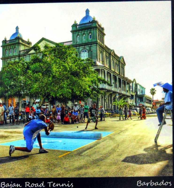 Bajan Road Tennis* by Mr. Ahmad Rasheed Boodhoo - Masterpiece Online