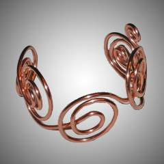 TA7226 Coils of Copper by  Terrie Allen - Masterpiece Online
