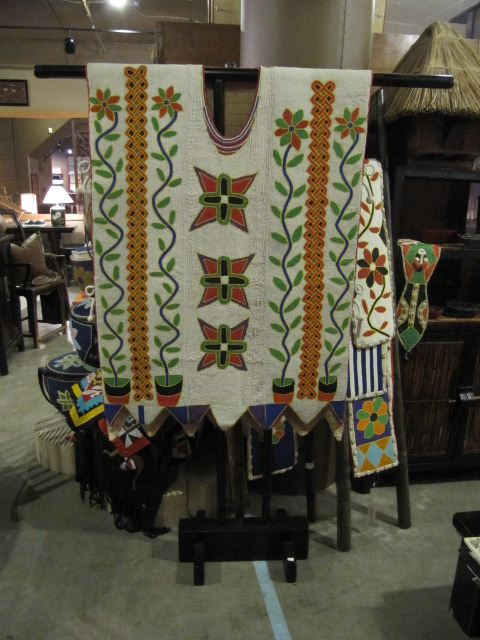 AFRICAN BEADED JACKET by    - Masterpiece Online