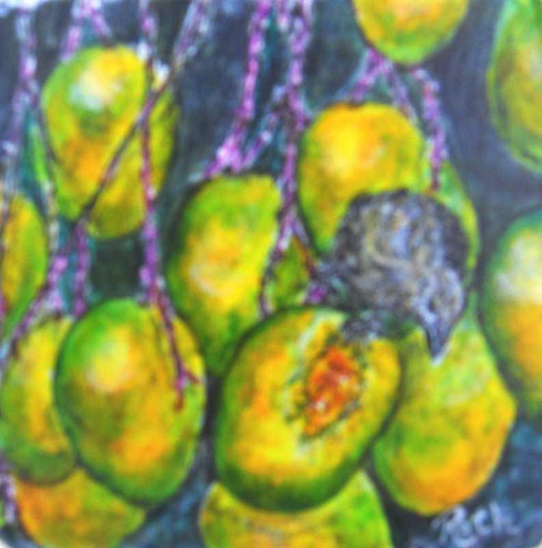Mango Bird by  Geri-Ann Roth - Masterpiece Online