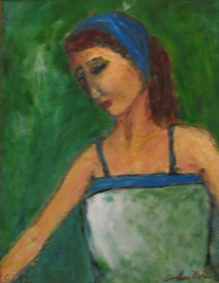 Thinking by  Andres  Morillo - Masterpiece Online