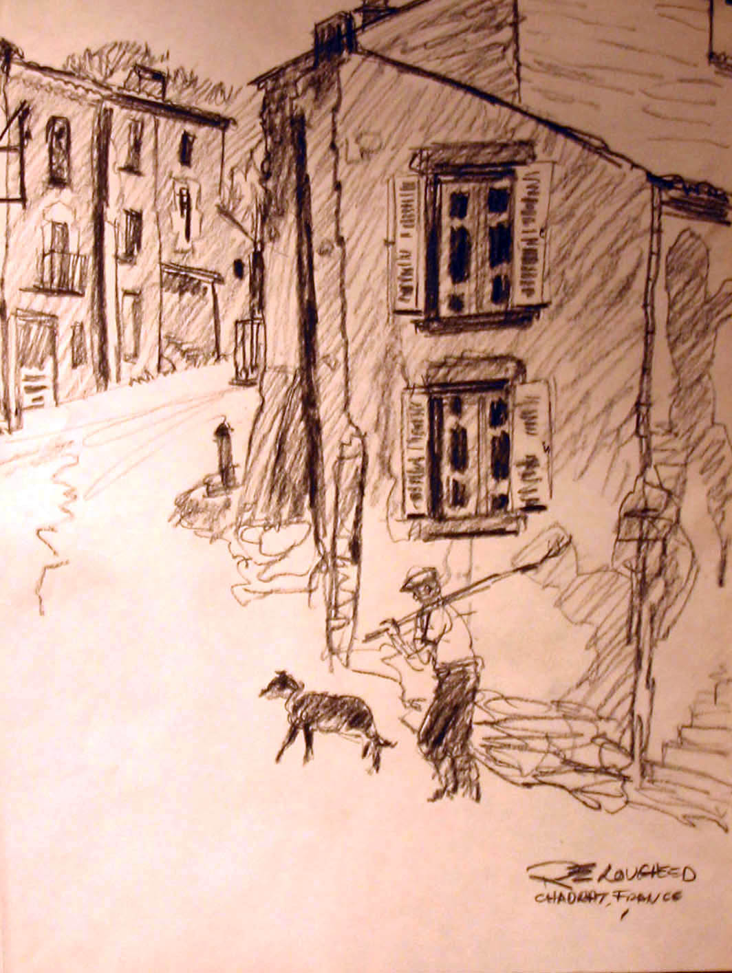 Chadrat, France by  Robert Lougheed - Masterpiece Online