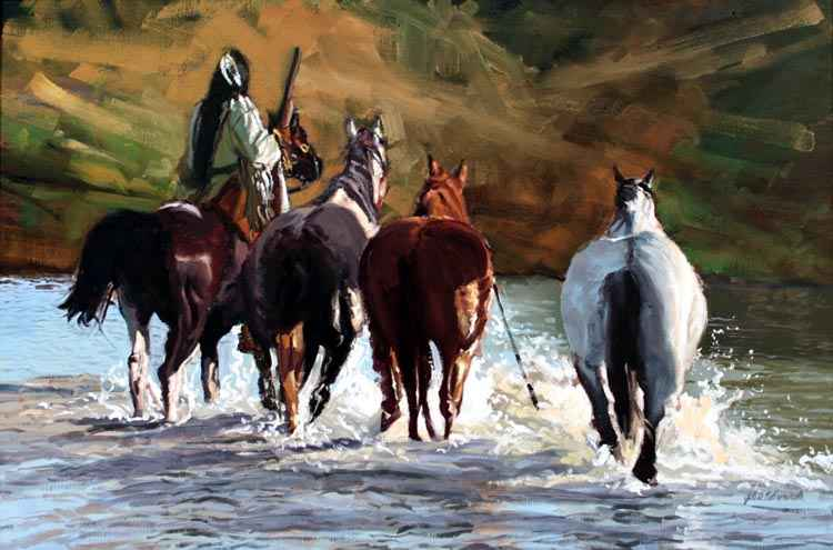 SOLD- A Good Trade by  Glen Edwards - Masterpiece Online