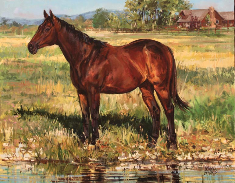 SOLD- Bridger Commi... by  Barbara Summers Edwards - Masterpiece Online