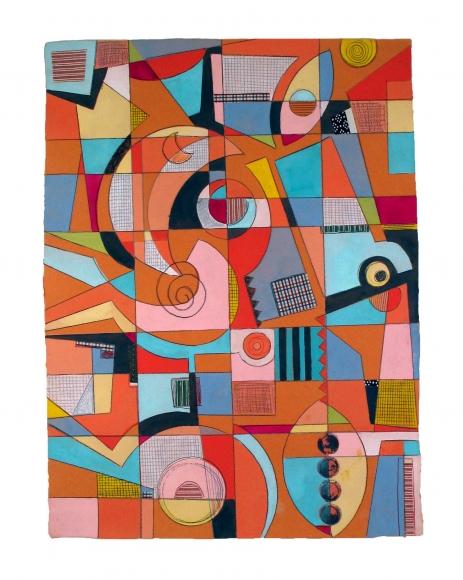 ORANGE MOON by  Sheryl Zacharia - Masterpiece Online