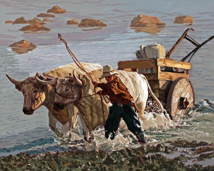 Water to Mud by  Glen Edwards - Masterpiece Online