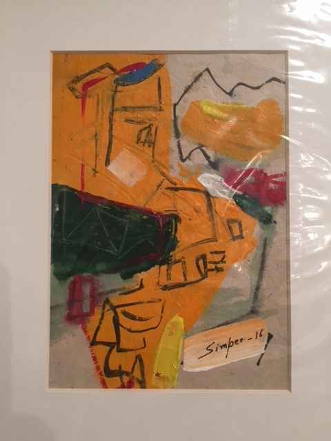 Untitled Abstracts #1... by  Simpee Pratap - Masterpiece Online