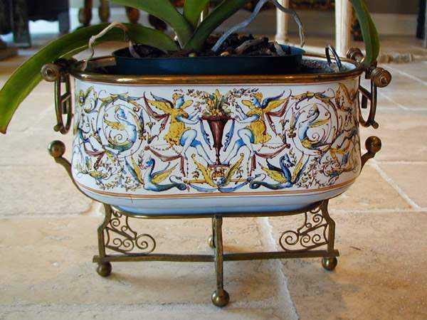 Porcelain Cachepot by  Italian  - Masterpiece Online
