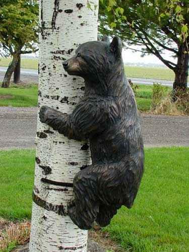Climbing Bear - Left ... by  Danny D. Edwards - Masterpiece Online