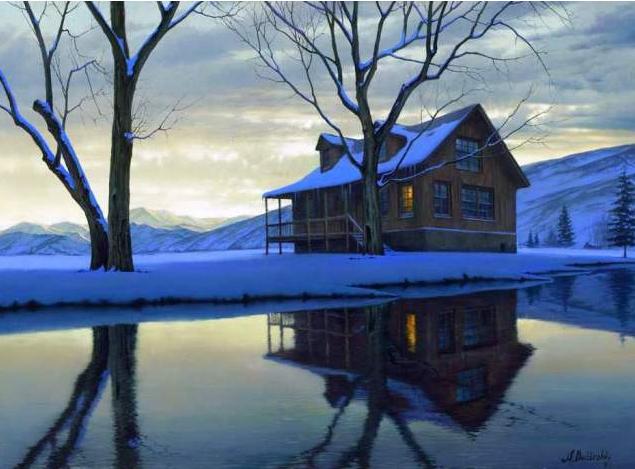 Serenity by  Alexei Butirskiy - Masterpiece Online