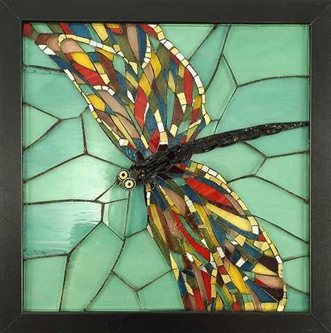 Black Dragonfly by  Lynne Chinn - Masterpiece Online