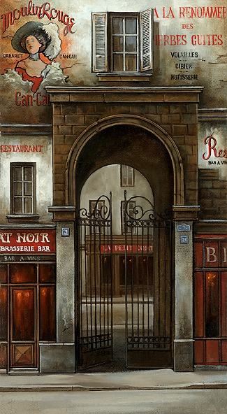 Moulin Rouge by  Alexey Alexandrovitch - Masterpiece Online