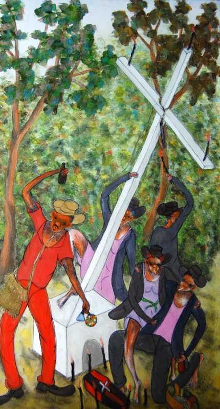 Ceremonie by  Reynald JOSEPH - Masterpiece Online