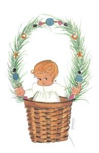 DECEMBER'S BABY by  P. Buckley Moss  - Masterpiece Online