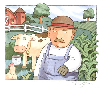Farmer Guy  by  Tim Egan - Masterpiece Online