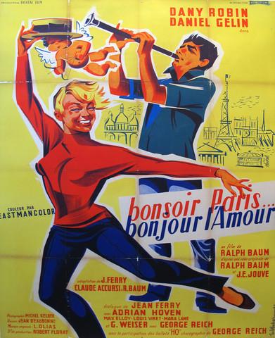 Bonsoir Paris - Bonjo... by   Unknown - Masterpiece Online