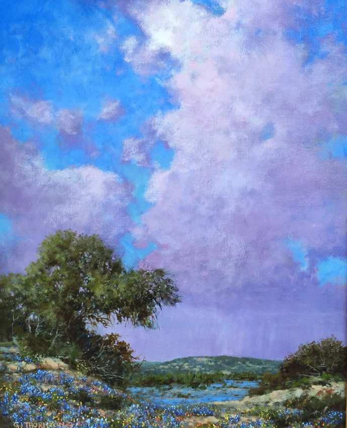 Lavender Blue by Mr Gary Jack Thornton - Masterpiece Online