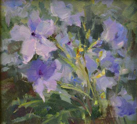 Mexican Petunias by MS Kaye Franklin - Masterpiece Online