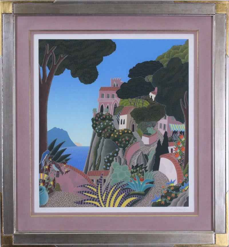 Capri by  Thomas McKnight - Masterpiece Online