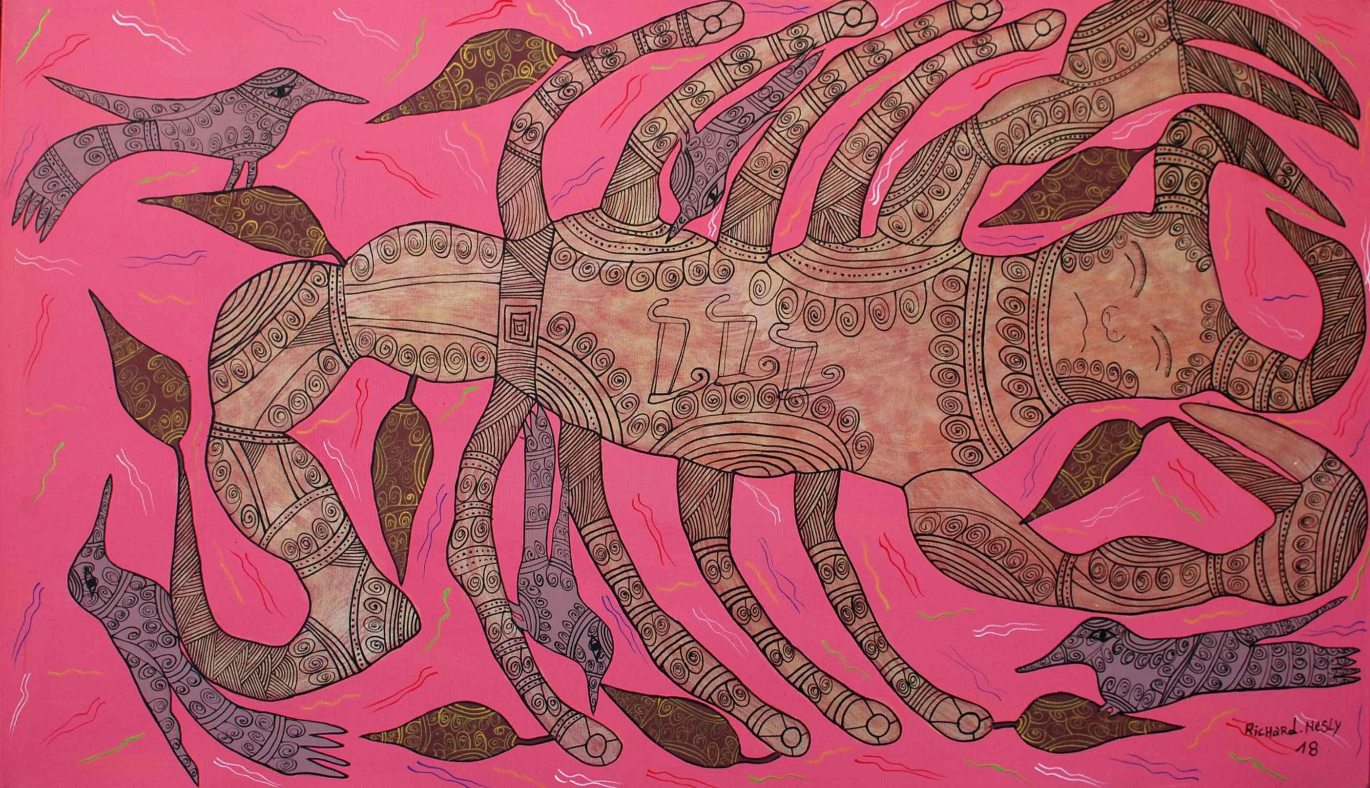 Scorpio by  Richard NESLY - Masterpiece Online