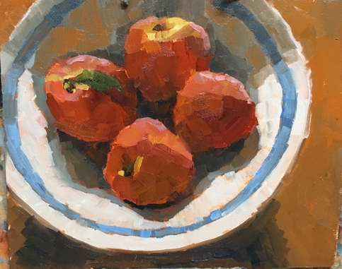 Four Peaches by  Clare Stratton - Masterpiece Online