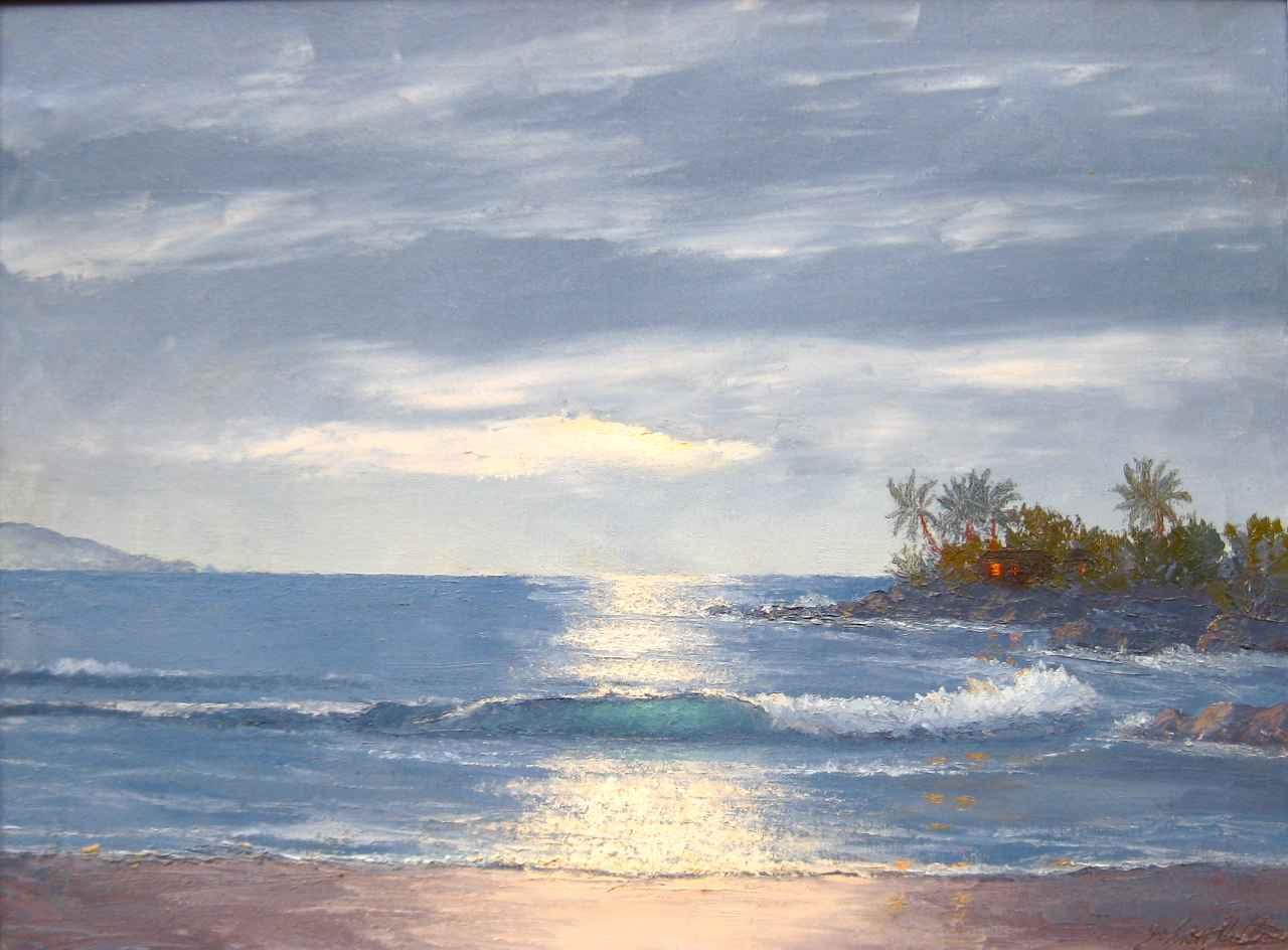 Maui Midnight by  John W. Hilton (1904-1983) - Masterpiece Online