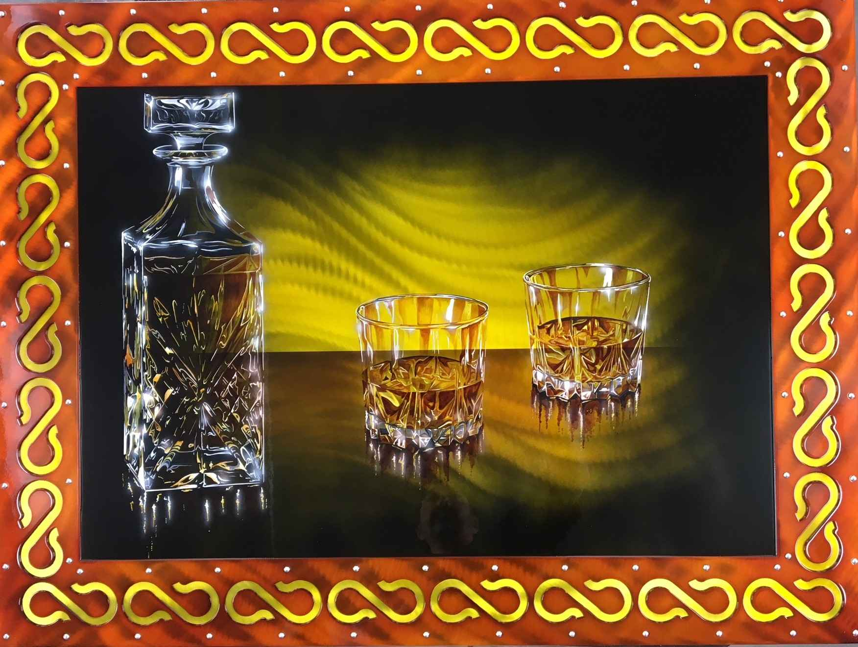 Scotch for Two by  Cris Woloszak - Masterpiece Online