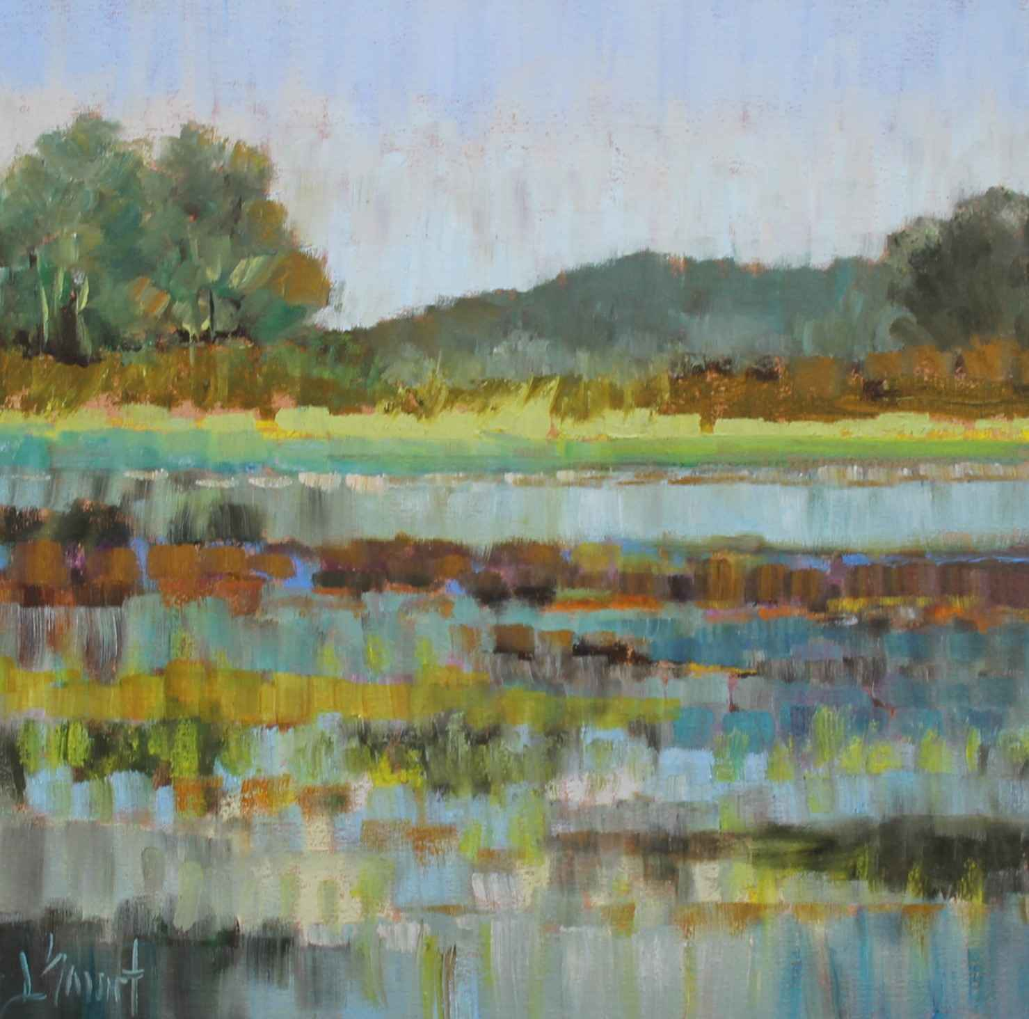 Colorful Marsh Grass by  Libby Smart - Masterpiece Online