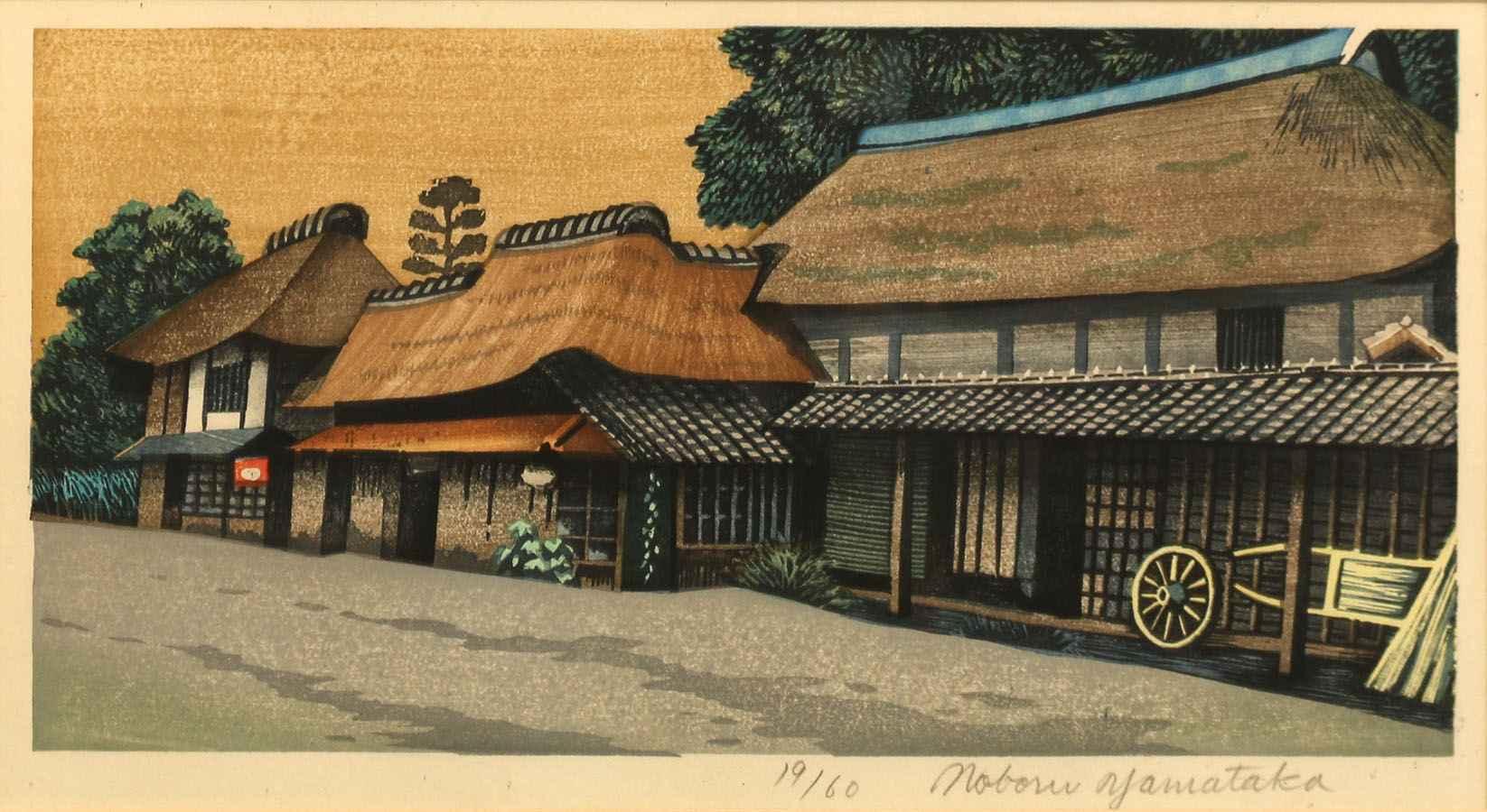 Farmhouses by  Noboru Yamataka - Masterpiece Online