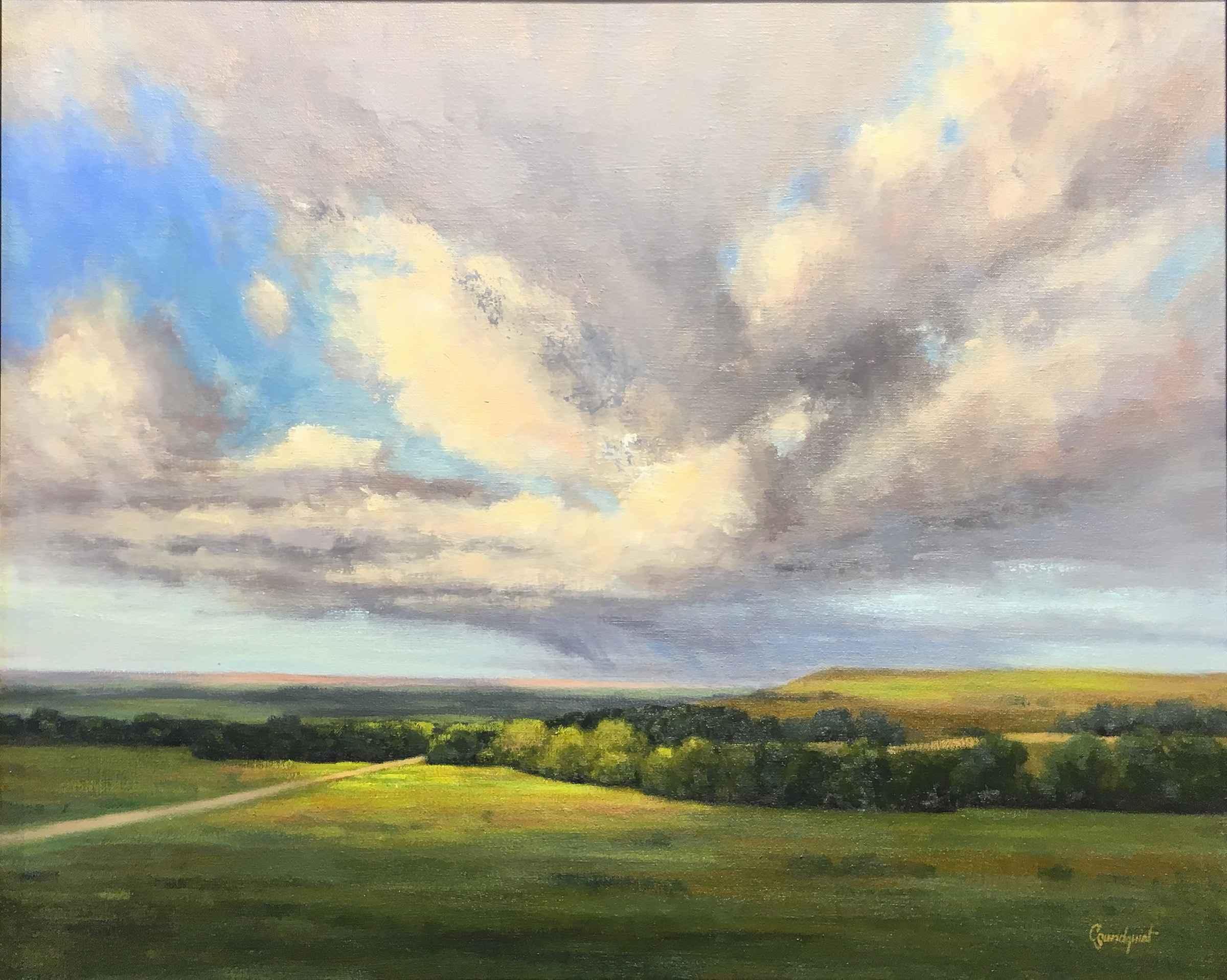 Rain and Spotlight by  Cristine Sundquist - Masterpiece Online