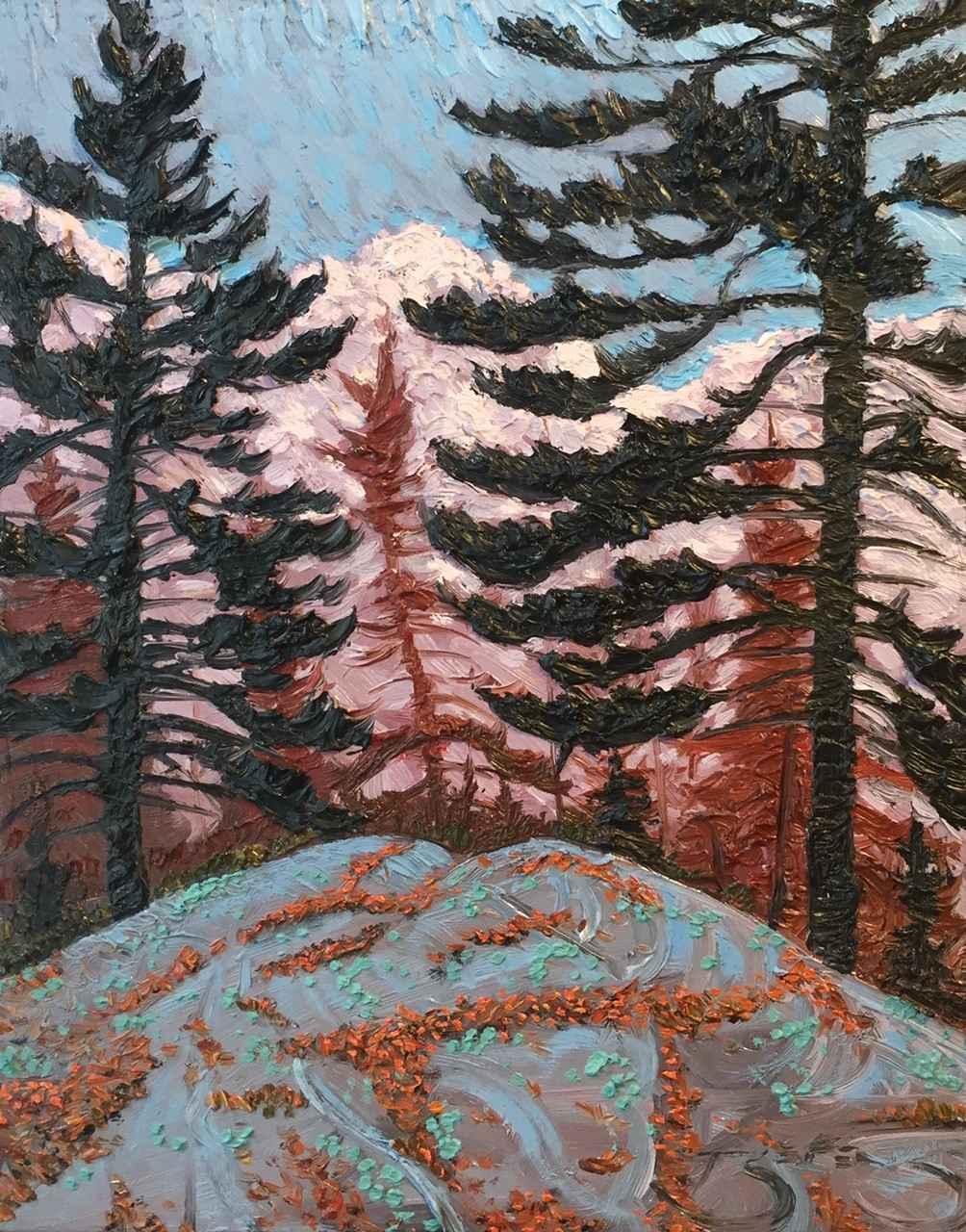 Buffalo Pines Canoe L... by  Mark Berens - Masterpiece Online