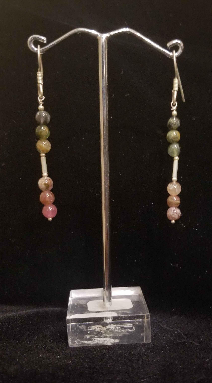 Earrings - Jade - Ros... by  Gallery Pieces - Masterpiece Online