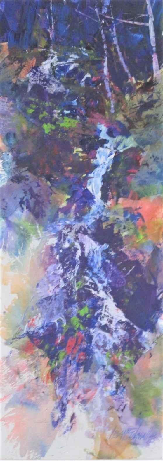 Title Unknown (waterf... by  Jean Schwalbe - Masterpiece Online